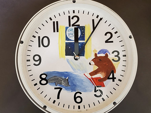 Painted Clock 6