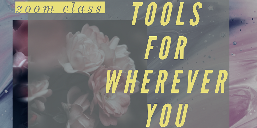Anxiety Tools for Wherever You Are
