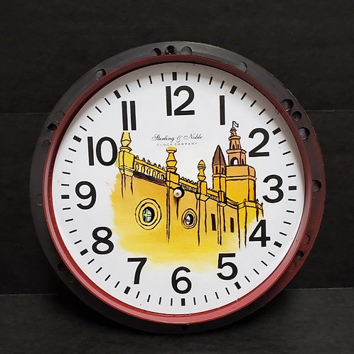 Painted Clock 5