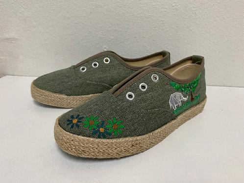 Painted Shoes_Khaki 2