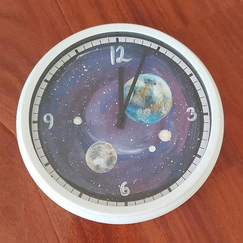 Painted Clock 8