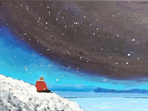 Painting Night Sky (12x12)