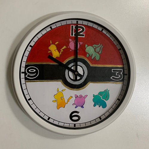 Painted Clock 4