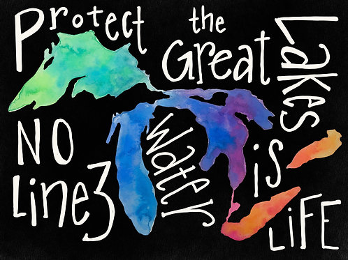 Protect the Great Lakes Fundraiser Print