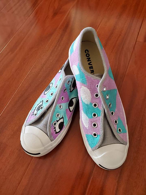 Painted Converse Eyes