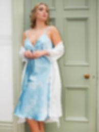 Bridal Satin Slip and Robe
