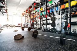 We supply gym flooring
