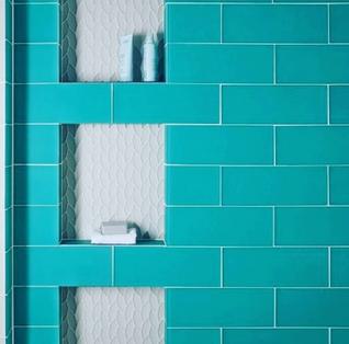 Bright Bathroom Tile