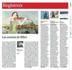 La Vanguardia Biber CD Review