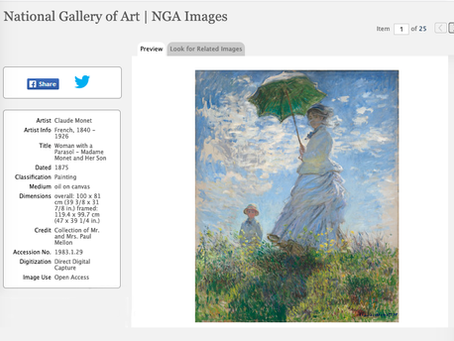 Digital library Museums that Give Away Open Access Images of Public Domain Work