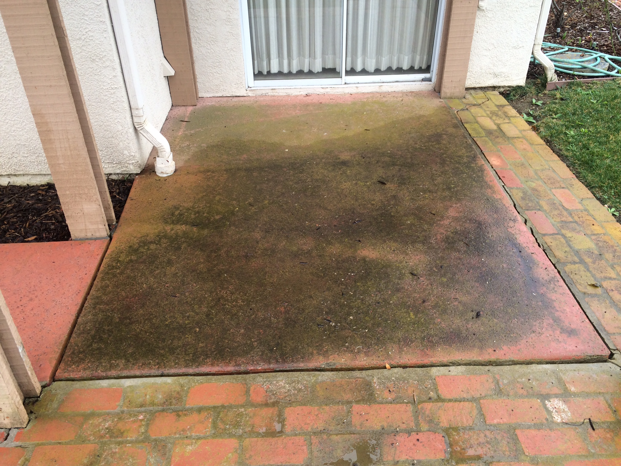 Power Washing - Before