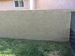 Wall repair - After.