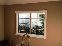 Completed Window Trim/Paint