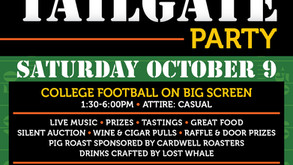 Join us! NBAP Fall Tailgate Party - October 9, 2021