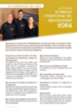 Navegant per Cambrils - Revista de Cambrils - Cambrils - Vora - Restaurant Vora