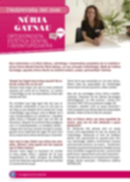 Navegant per Cambrils - Revista de Cambrils - Núria Gatnau - Ortodoncista - Estètica Dentl - Odontopediatra - Cambrils