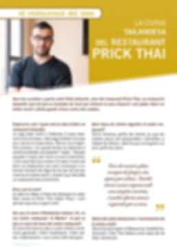 Navegant per Cambrils - Revista de Cambrils - Cambrils - prick thai - thai - tailandia - cuina tailandesa - restaurant - restaurant cambrils