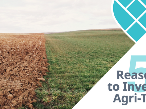 5 Reasons to Invest in Agri-Tech