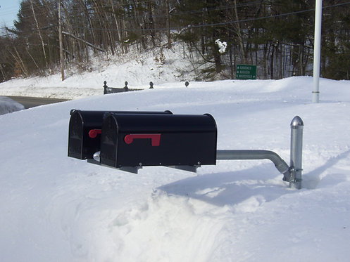 MailSwing with Two Box Spreader & Post - No Mailboxes