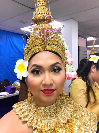 Cambodian classical ballet performer