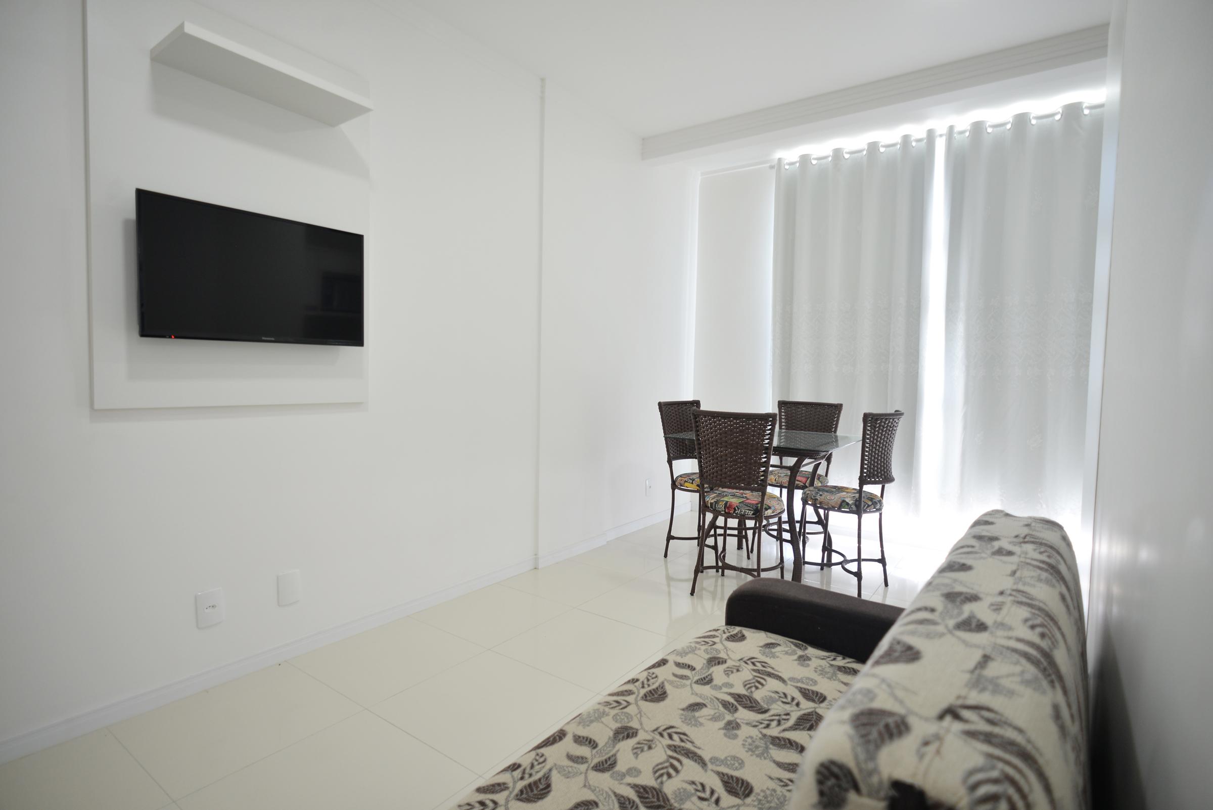 Sala com Smart Tv