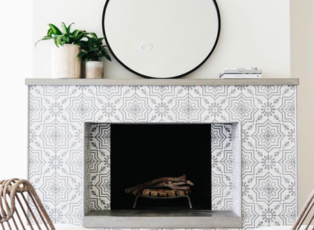 Cement Tile on a Budget