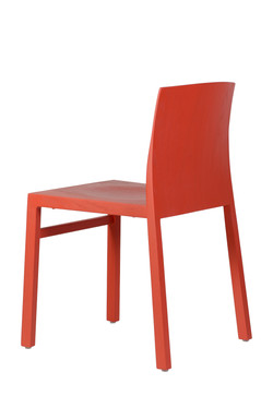Hanna Chair in red