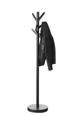 High Point Coat Rack in black