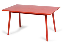 Hanna Table in red