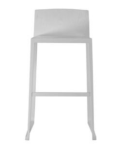 Hanna Bar Stool in white