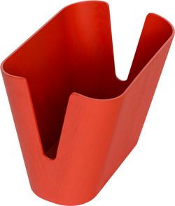 Kita Magazine Holder in red