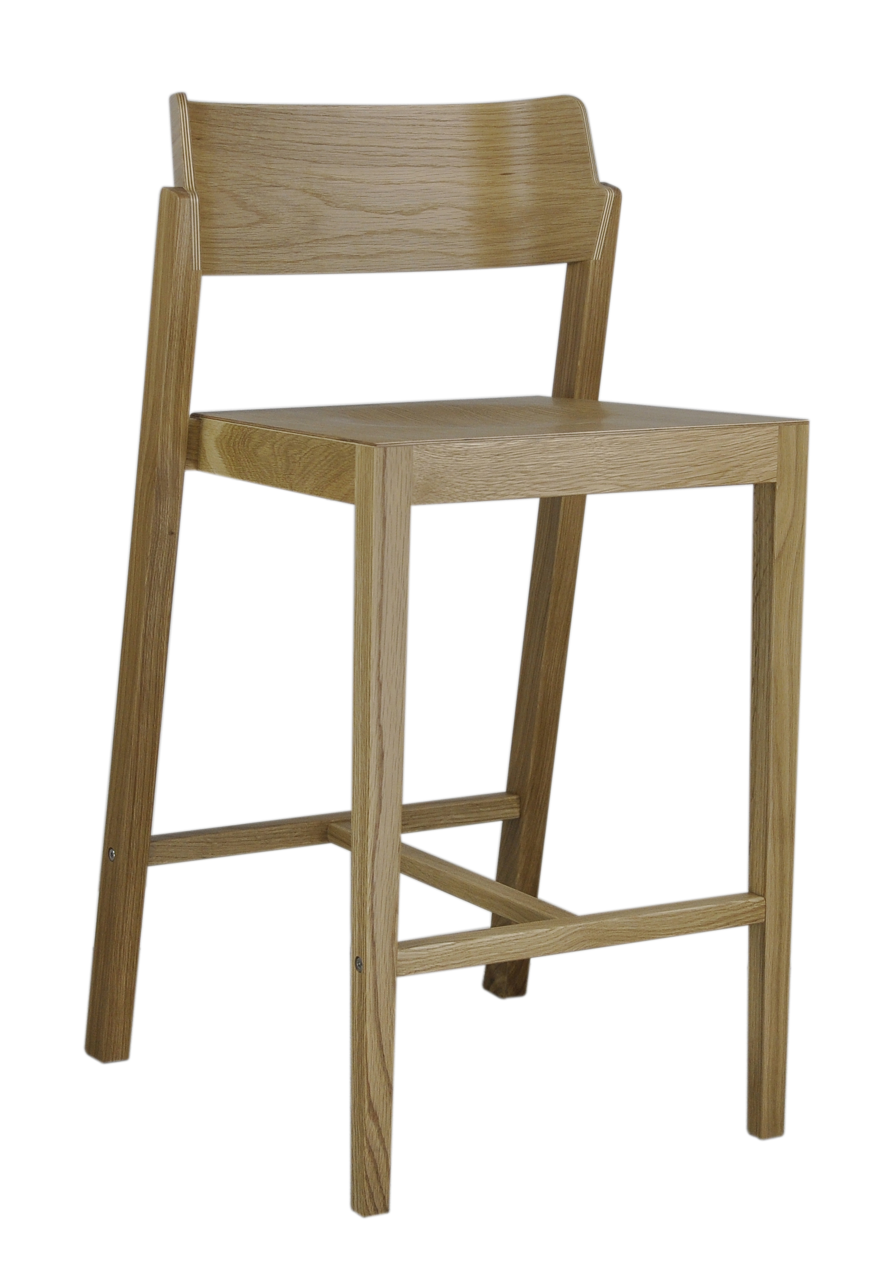 The 100 Counter Stool in oak