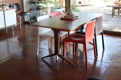 Y Dining Table in walnut