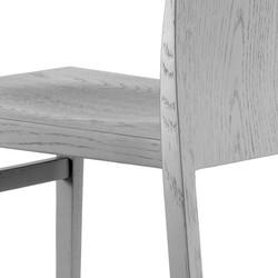 Hanna Sled Chair detail