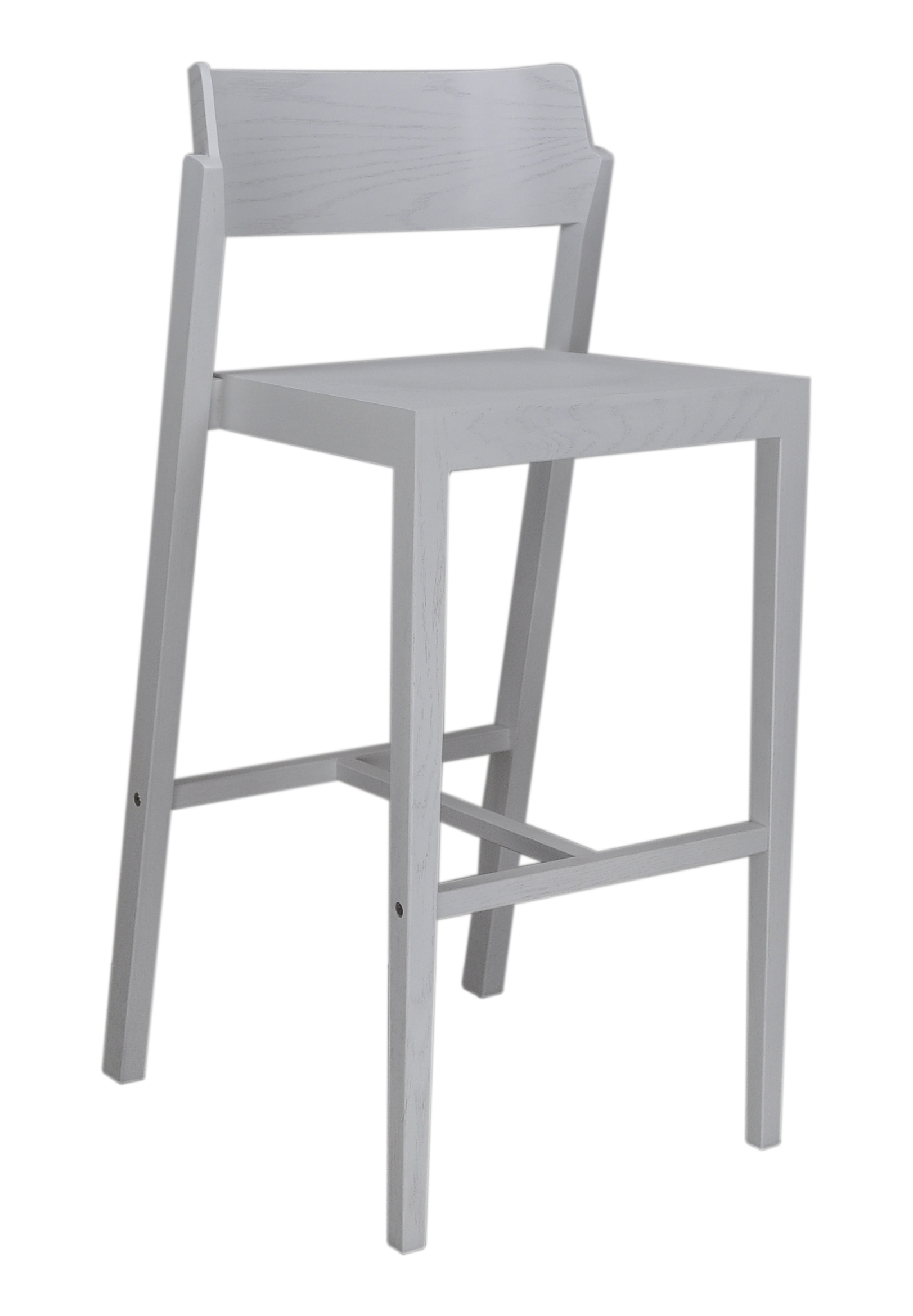 The 100 Bar Stool in white