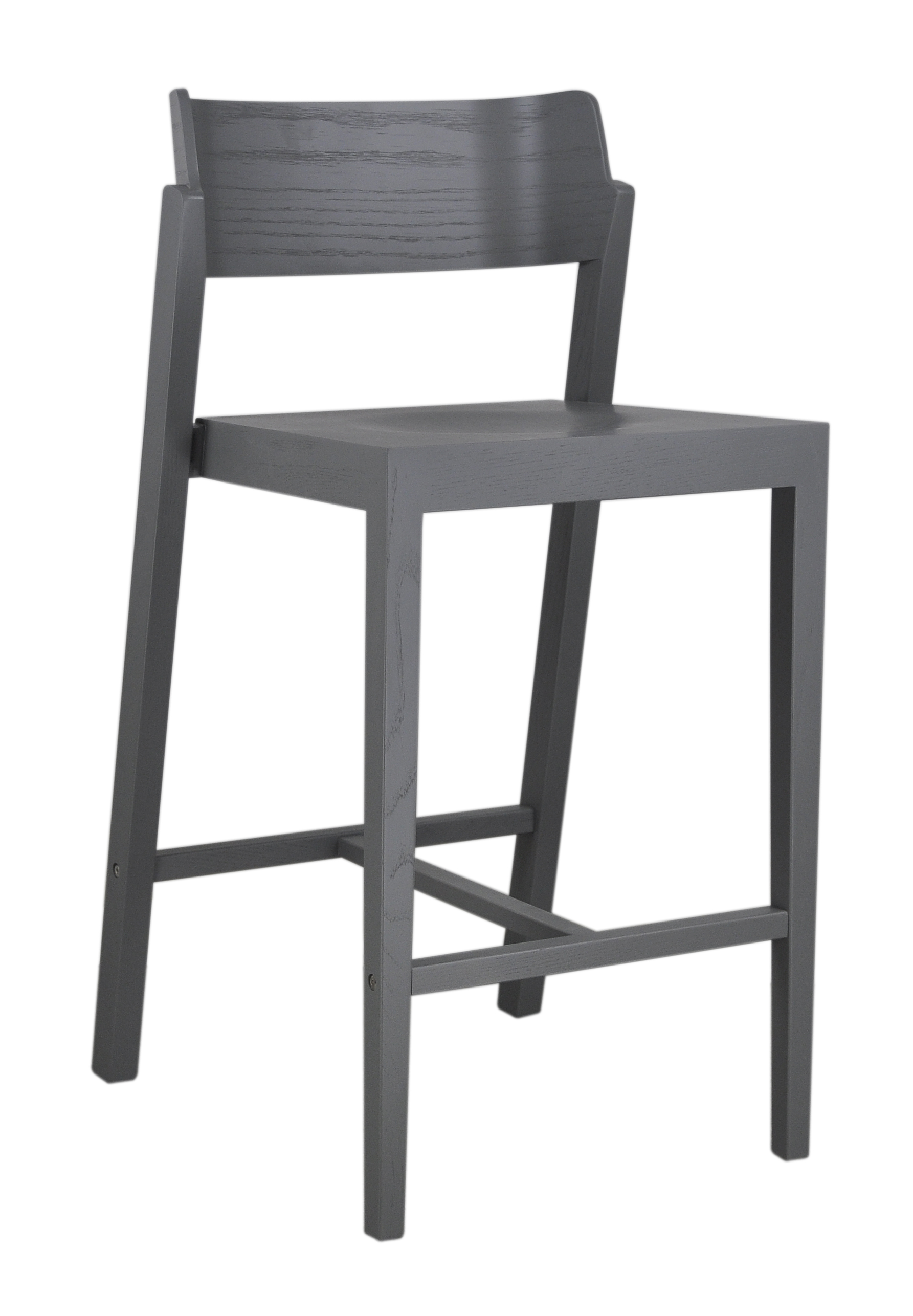 The 100 Counter Stool in grey