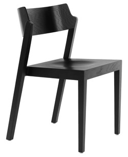The 100 Chair in black