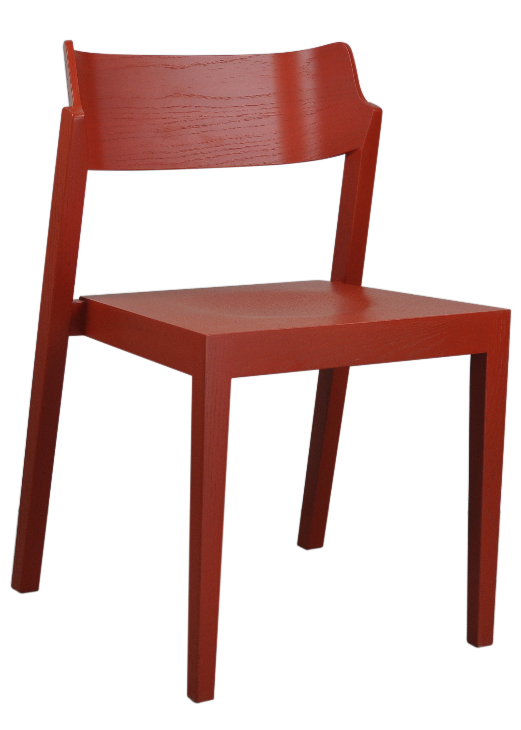 The 100 Chair in red