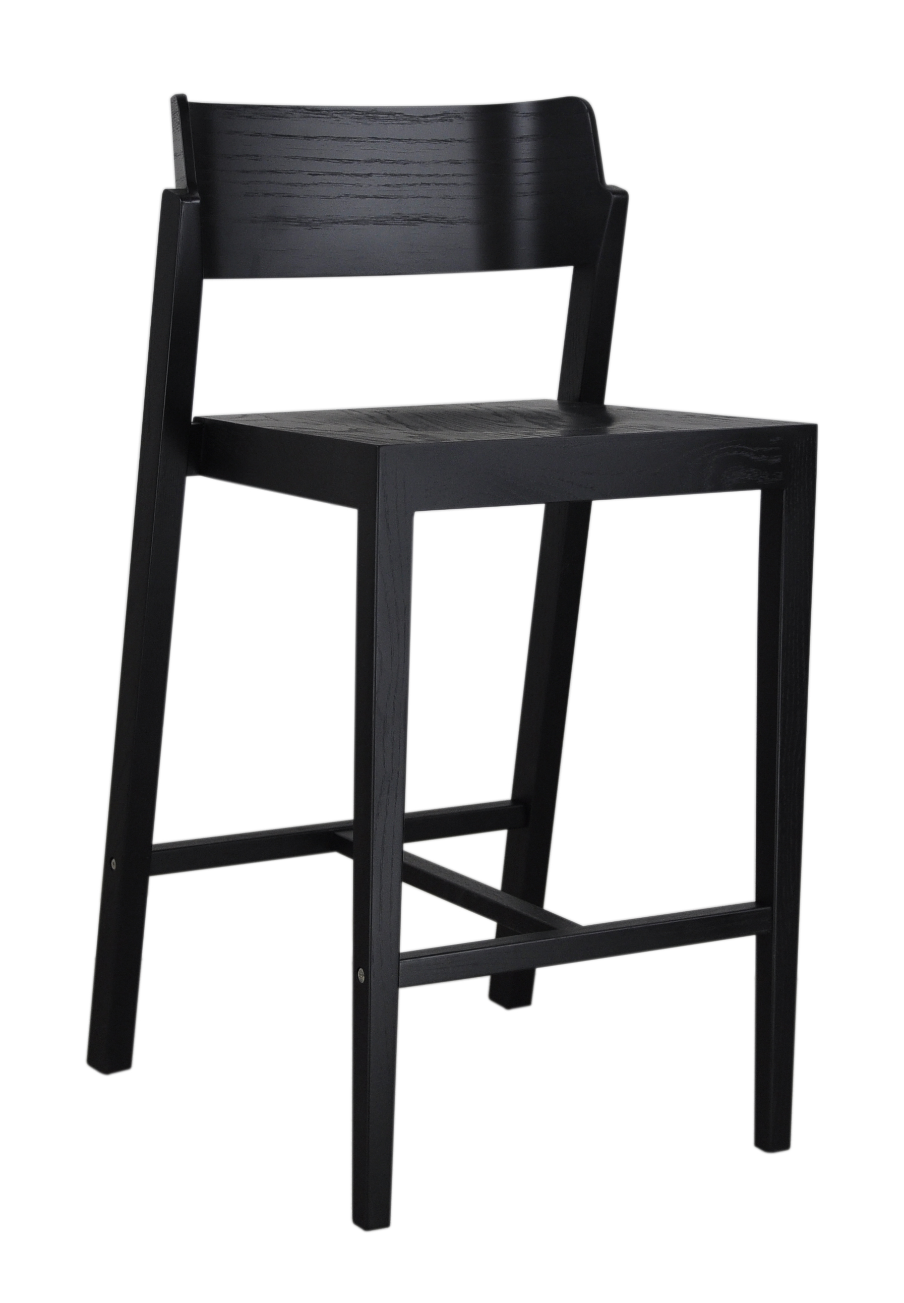 The 100 Counter Stool in black