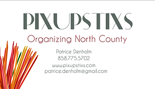 PixUpStixs Organizing North County, San Diego