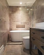 Bathrooms that imply creativity