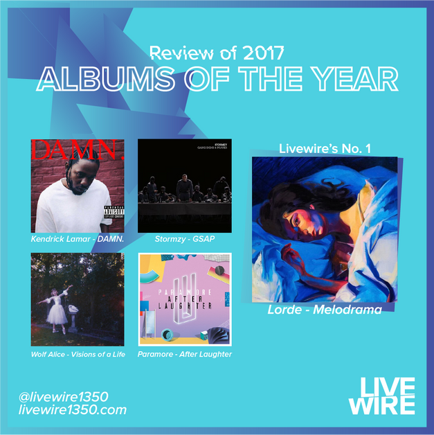Livewire\'s Best Albums of 2017 | Livewire1350 | The Sound of UEA