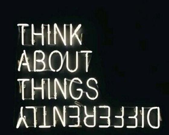 Pensez différemment