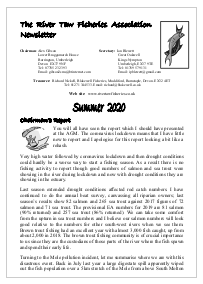 RTFA Summer 2020 Newsletter