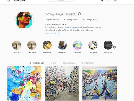 Gracias a los 83300 seguidores en Instagram