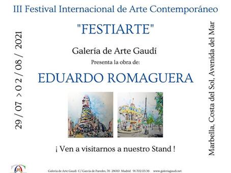 Galería Gaudi presenta la obra de Durome E.Romaguera en Marbella.