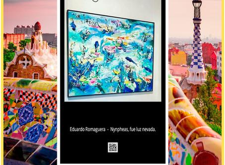 Próximamente! Eduardo Romaguera en ART METROPOLE EUROPE, un proyecto de Art Box Suiza.