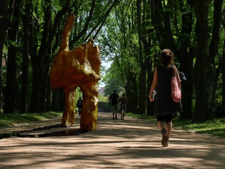 E. Romaguera Mención de Honor Concurso Internacional de Escultura Parque de Levante en Murcia.
