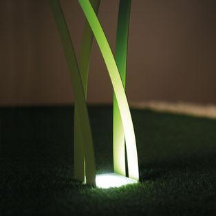 Erba lampada da giardino minimale ed elegante