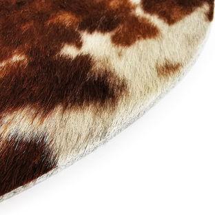Tappeo tappeto in vera pelle di design